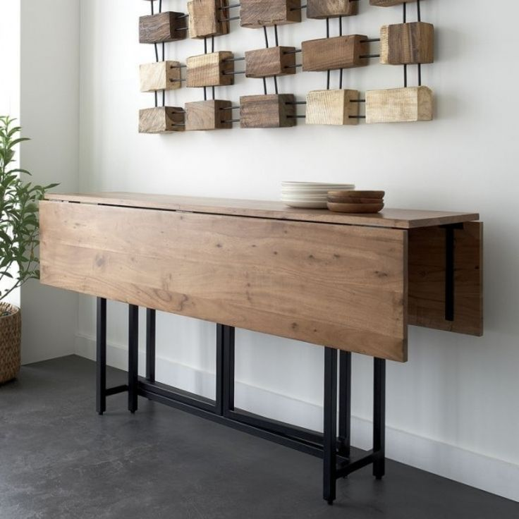 Wall mounted dining room