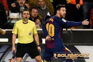 BOLAINDO77: Gol Messi Dianulir, Esk Wasit Kecam La Liga Karena...
