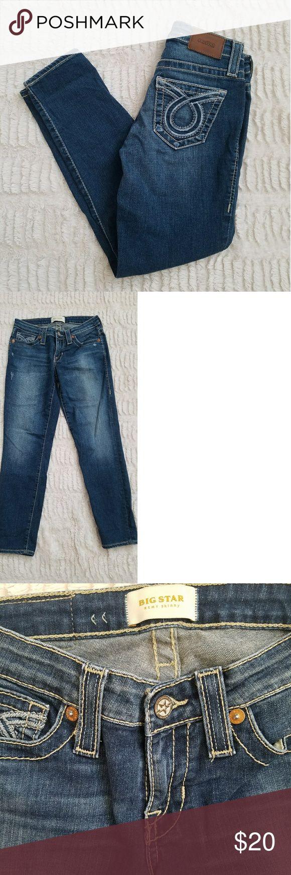 FINAL-Big star skinny jeans Big star Remy skinny jeans 25x25 Big Star Jeans