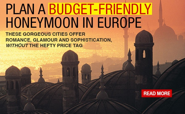 We want to do a backpacking trip across Europe for our honeymoon...perhaps save a few euros here and there?