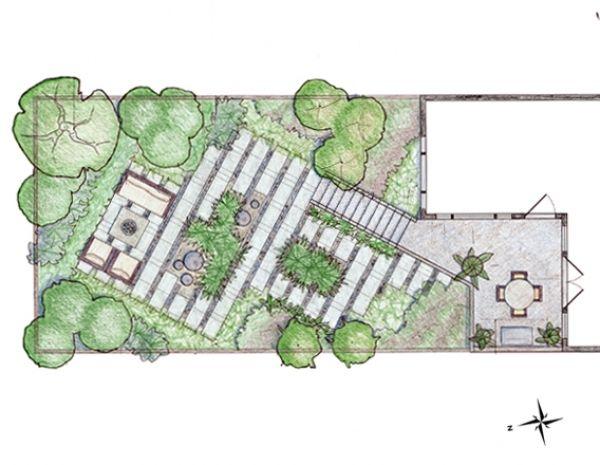 17 best images about garden designs on pinterest gardens for Form garden architecture