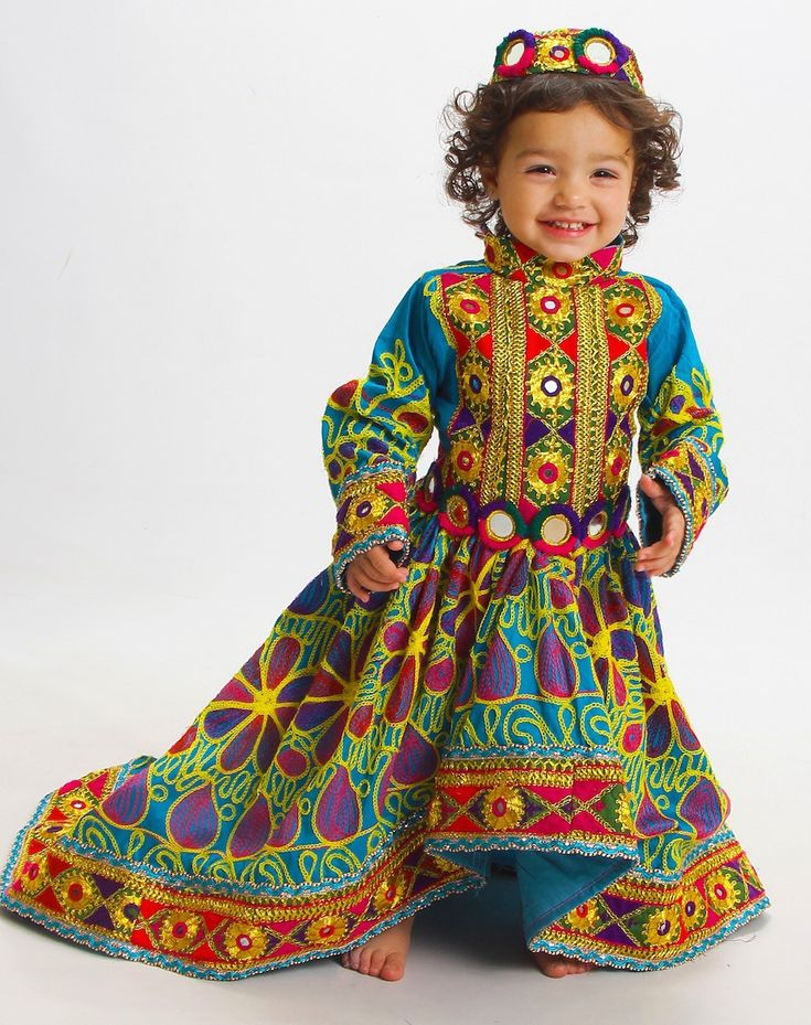 Morsal Girls Afghan Dress