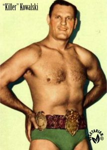 Killer Kowalski - Campeón de lucha - Vegetariano