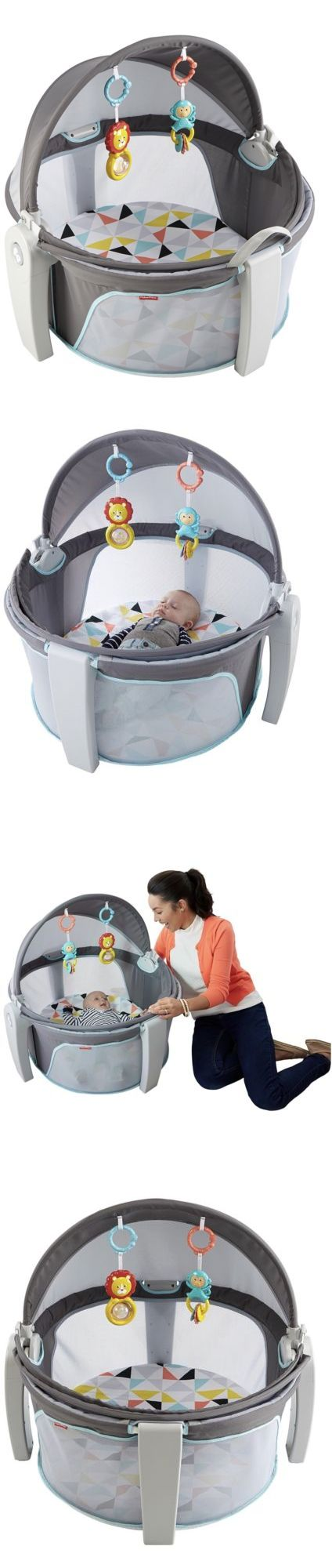 Nursery Furniture 20422: Fisher-Price On-The-Go Baby Dome, White -> BUY IT NOW ONLY: $46.9 on eBay!