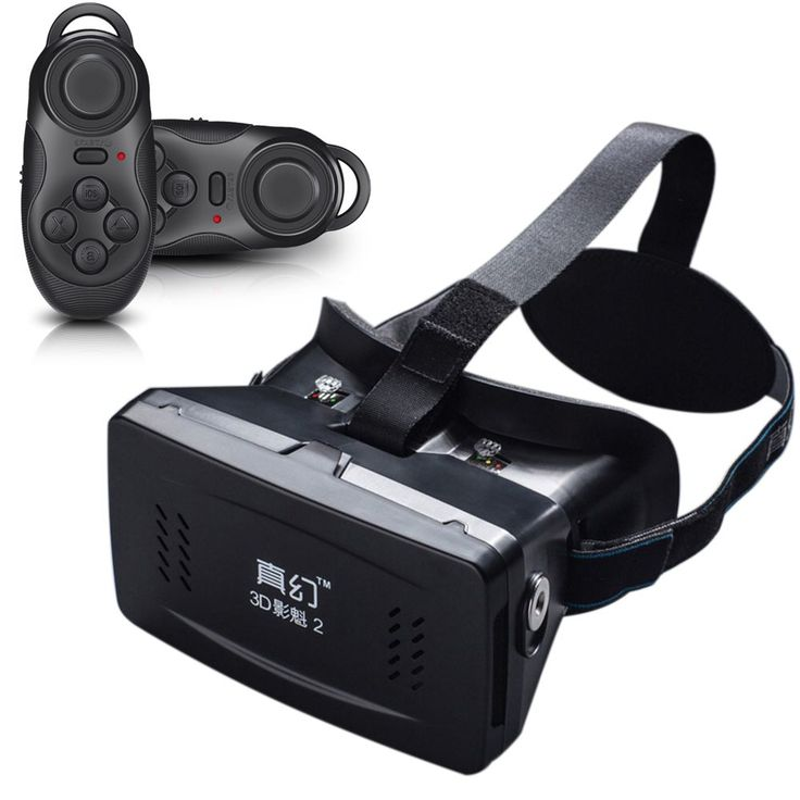 Private 3D Glasses Google Cardboard 3D VR Glasses Virtual Reality 3D VR Video with Wireless Bluetooth Shutter Gamepad for iPhone //Price: $17.80//     #shop