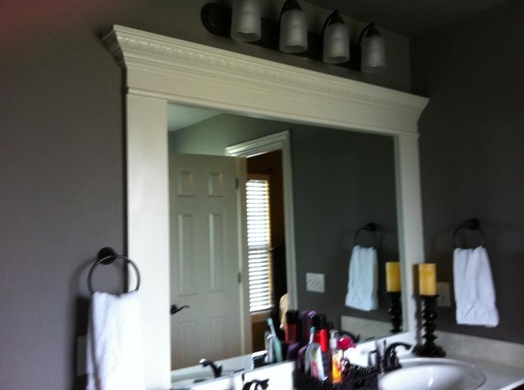 Crown Molding For Bathroom Bathroom Ideas Pinterest Crowns Moldings And Bathroom