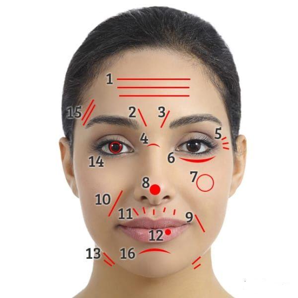 Incrível: as linhas e rugas do seu rosto revelam doenças e outros problemas do…