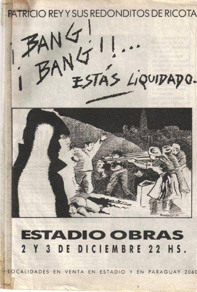 ESTADIO OBRAS - VIERNES 2/12/1989