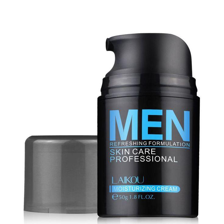 Uomo naturale Cura Della Pelle Crema Lozione Per Il Viso Moisturzing Equilibrio Olio Illuminare Pori Minimizzare 50g Uomini Crema Viso