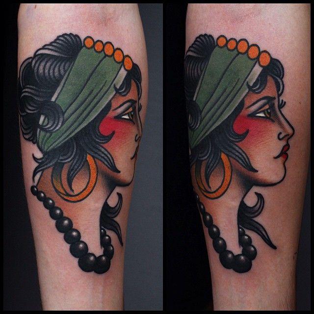Best 25+ Traditional Gypsy Tattoos Ideas On Pinterest