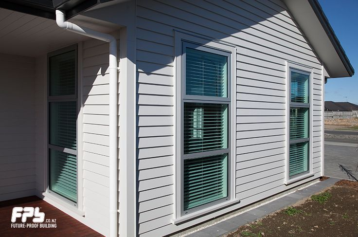 Classic Linea® Weatherboard cladding from James Hardie (www.jameshardie.co.nz) Linea Weatherboards are designed to capture the deep shadow lines of traditional weatherboards. This makes them ideal for authentically replicating, re-cladding, or renovating older style homes.