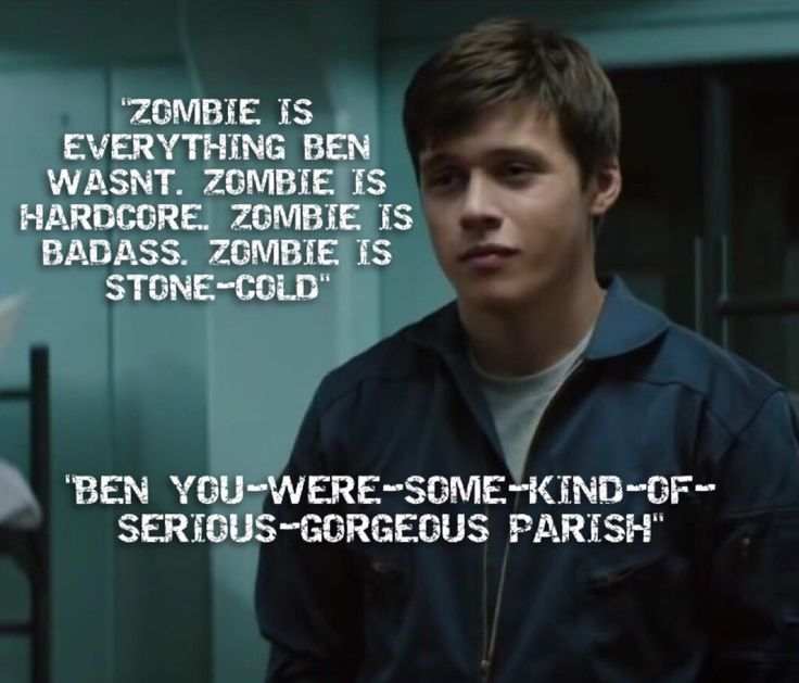 Zombie - Nick Robinson (Via @heyitsSky013 Twitter)