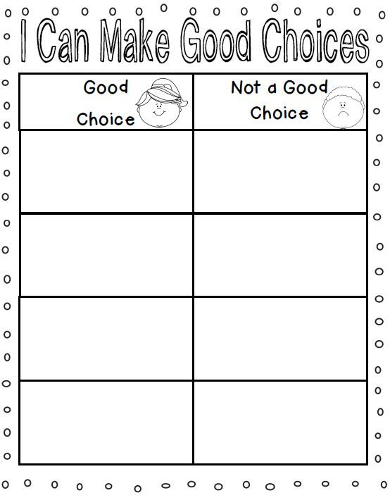 activities for classroom rules, making good choices, getting along with others $