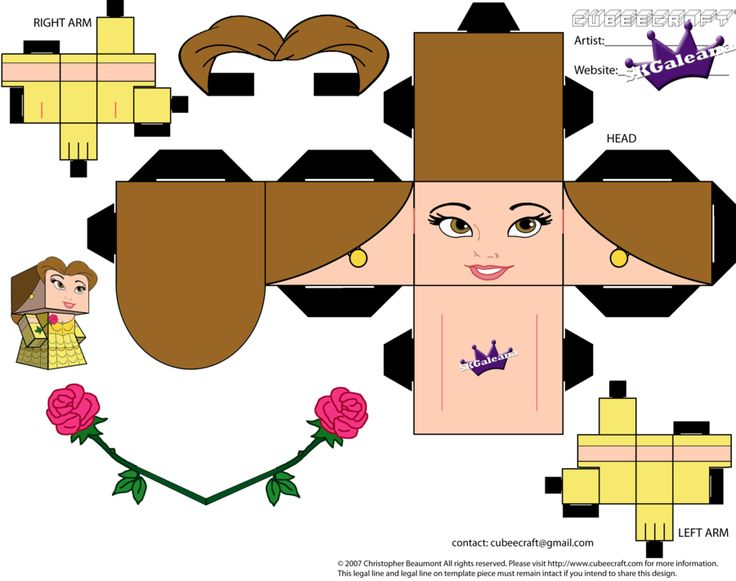cubeecraft_of_belle_from_beauty_and_the_beast_pt1_by_skgaleana-d5c97na.png 900×711 pixels