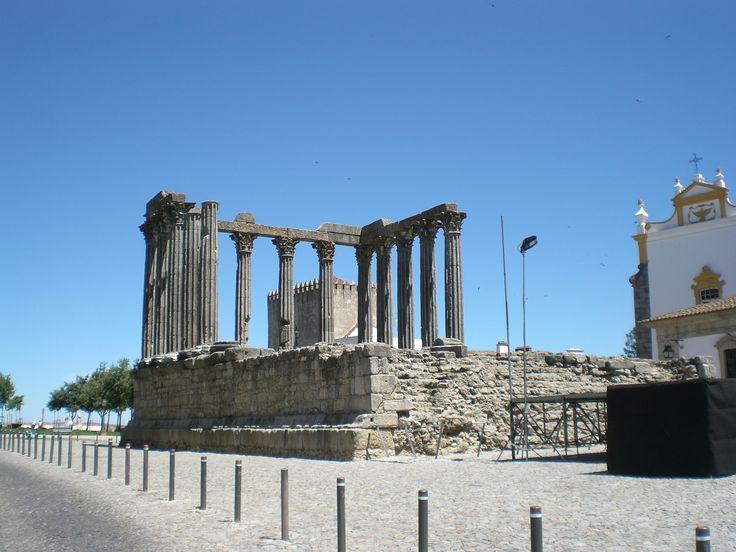 Évora - Templo de Diana