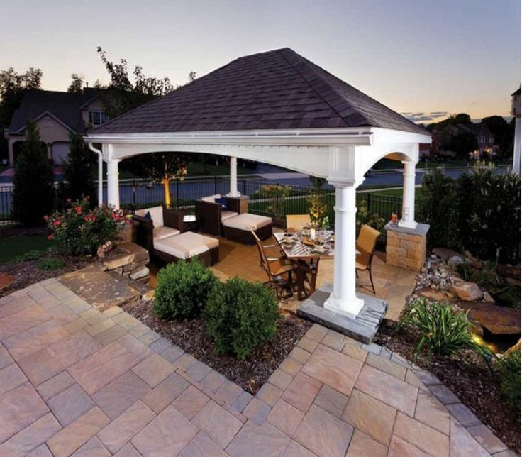 Patio Gazebo Cover Ideas