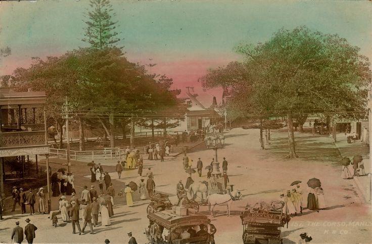 The Corso, 1900
