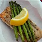 """Chef John's Salmon in Parchment Recipe - another """"en papillote"""" recipe. Temp is more appropriate for thinner fish filets, like tilapia or cod. Also a fool-proof method of cooking boneless skinless chicken breasts that are moist, not dried out!"""