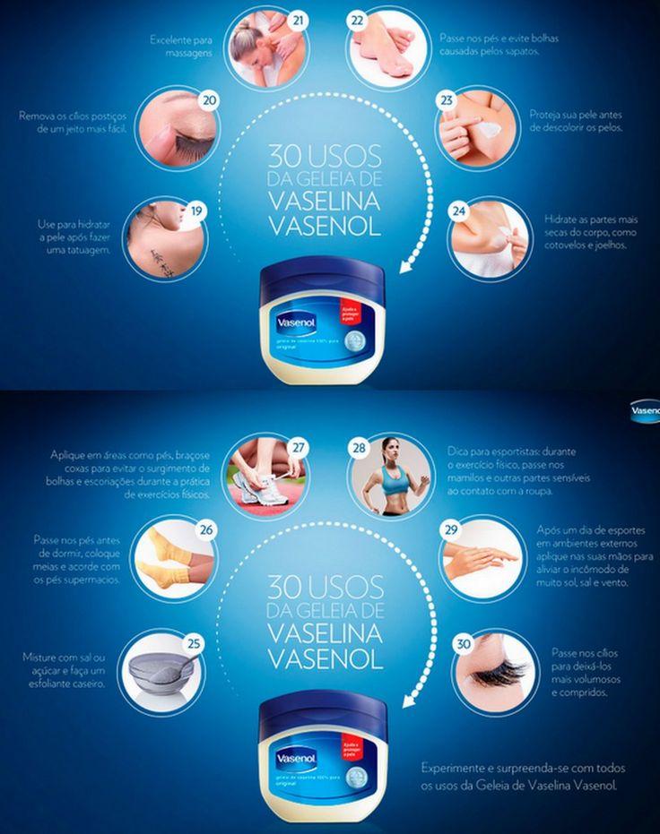 Serve Pra Tudo: Geleia de Vaselina - Vasenol