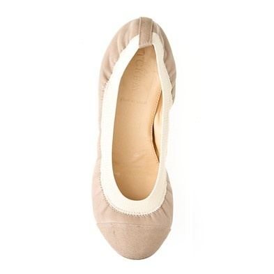 they look so comf! ballet flats JCrew