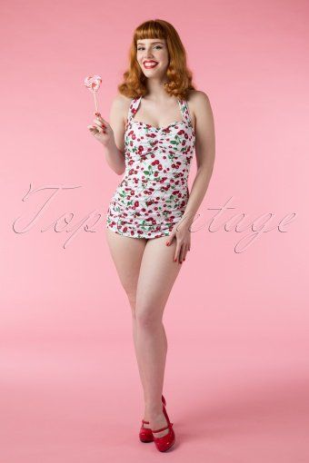Esther Williams classic fifties bathing suit 10380 02242015Vanessa 548W