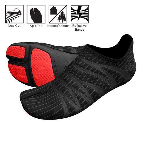 Who likes the barefoot running experience?  Amazon.com: ZEMgear 360 Ninja Split Toe - Running Series: Sports & Outdoors