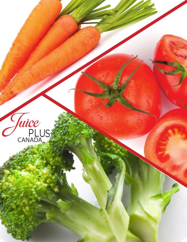 Who doesn't love their Vegetables!  Juice Plus+ can help support a healthy diet by offering a much wider variety of naturally occurring vitamins – along with other antioxidants and phytonutrients found in fruits and vegetables – than traditional vitamin supplements.  #JPCANADA  Juice PLUS is the Next Best Thing to Fruits and VEGETABLES!
