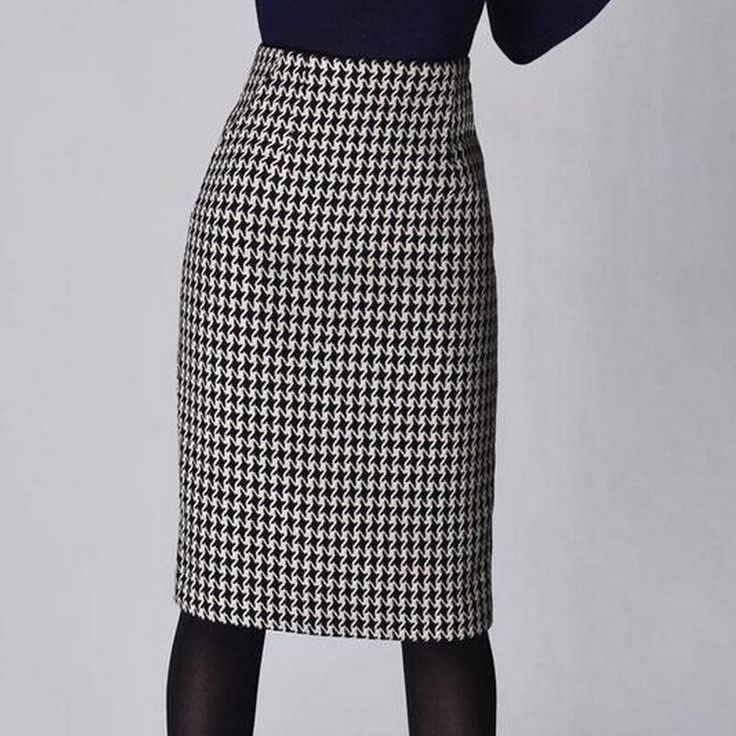 Women's slim formal plaid pencil skirt Price: 36.95 & FREE Shipping #women #clothing #men #accessories #home #garden #fashion #lifestyle #smartphones #electronics