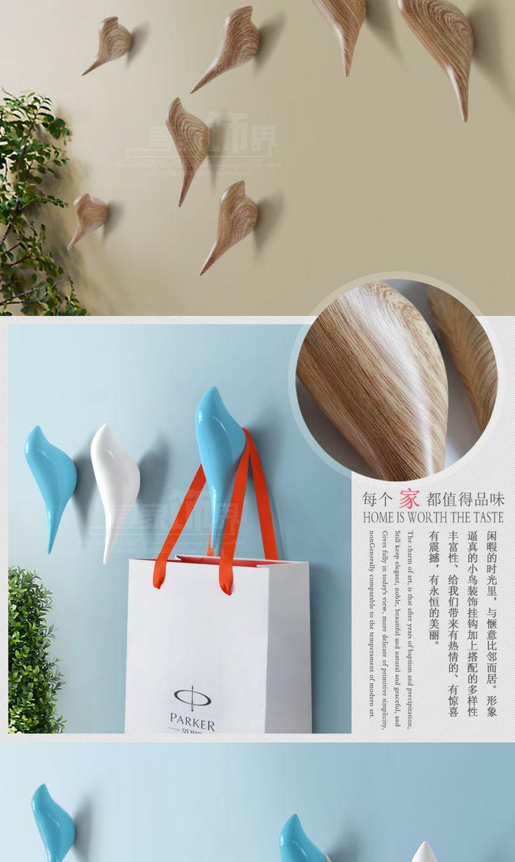 Estereoscópica Animales gancho de la pared del Pájaro de la Resina accesorios para el hogar Cocina Toalla robe gancho Ganchos de pared para cuarto de baño en Ganchos Para batas de Mejoras para el hogar en AliExpress.com | Alibaba Group
