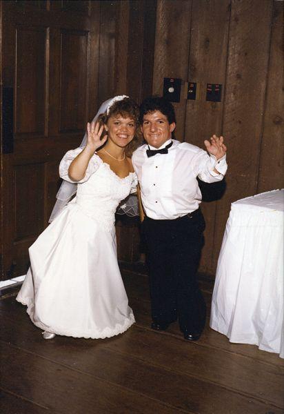 Amy & Matt Roloff 1987 wedding.