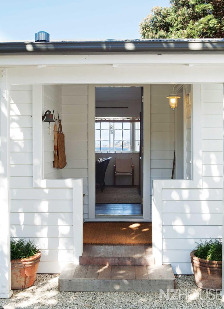 white weatherboard house - Google Search