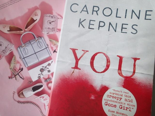 Sundays and Ink: The Creepy Thriller: YOU by Caroline Kepnes