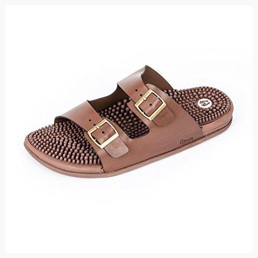 Revs Seva Sandals, Reflexology Sandals for Men & Women. Shock Absorbing, Cushion Comfort & Arch Support (*Partner Link)