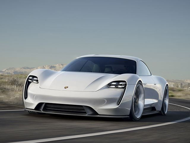 Porsche's Mission E Electric Sports Car Will Save The World And Trounce Tesla