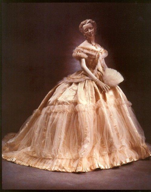 1860's Worth Gown (Not Civil War era, but still beautiful...)