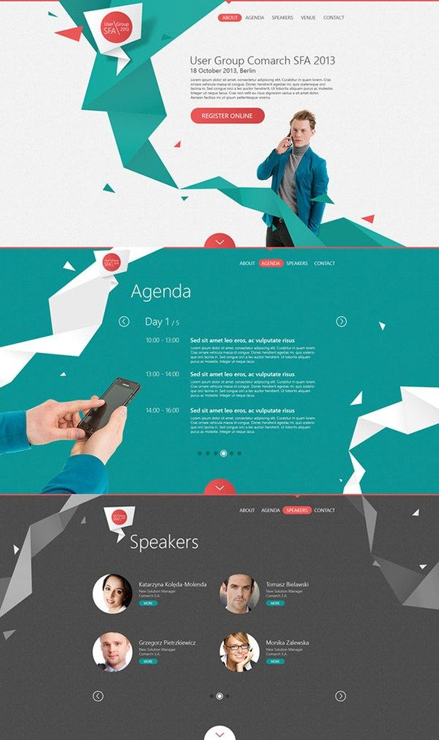 Web Design Inspirations (lots of great examples here)