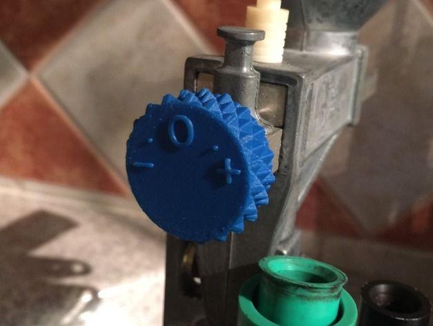 3d printed dillon powder knob