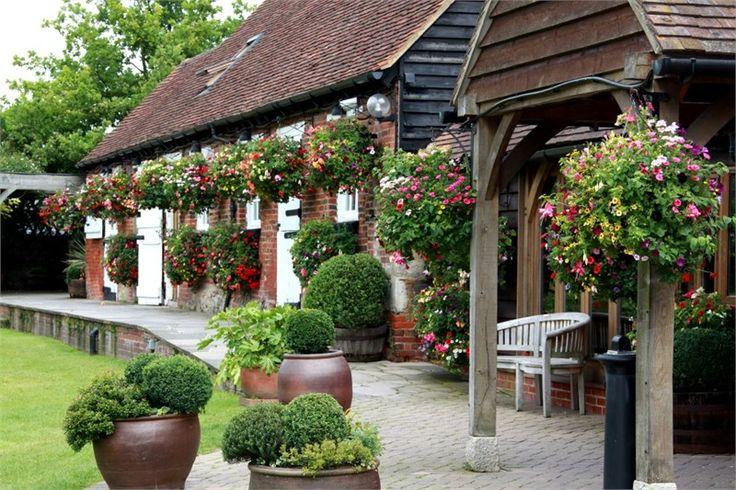 Cooling Castle Barn - where Richard & Viv married