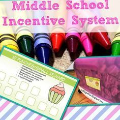 Middle School Classroom Incentive System |