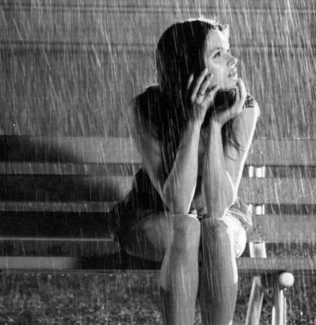 Image result for girl in the rain