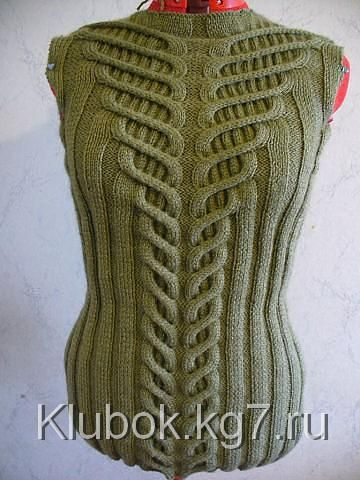 Sweater with textured pattern | Tangle