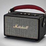 Marshall Kilburn hordozható Bluetooth hangfallal vezetékmentesen hangosíthatjuk a zenéket okoskészülékeink dalgyűjteményéből.
