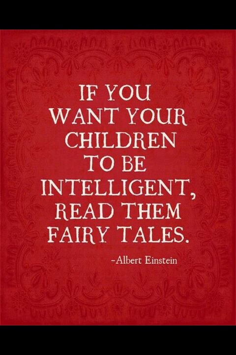 Fairy Tales #Quote #True #Believe Therefore reading the fairytales not just to the girls but to our boys...lets their hearts remember how to be true to a promise even in a fairy tale