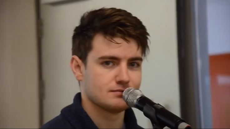 "The many faces of Emmet Cahill from CT's ""Legacy"" tour rehearsal video."