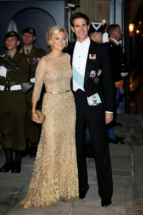 Elie Saab: the designer behind the weddings' gorgeous gowns - Crown Prince Pavlos and Princess Marie Chantal of Greece.