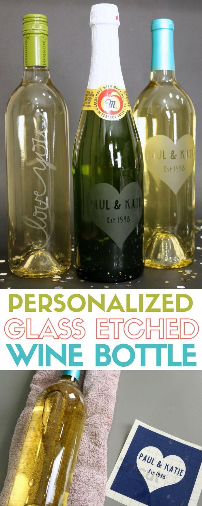 Best 25 glass etching ideas on pinterest for Wine bottle glasses diy