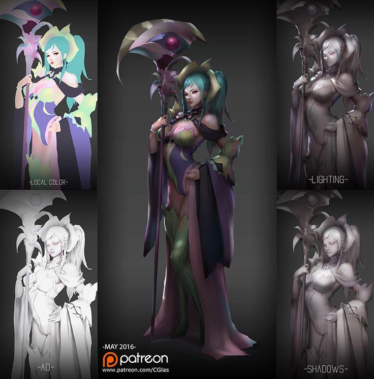 CGlas's ArtBlog and Inspirations Orchid mantis