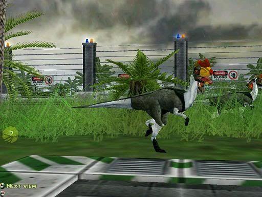 Jurassic park project genesis