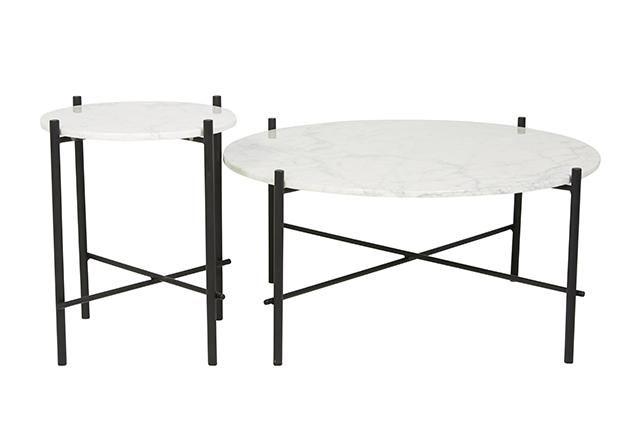 GlobeWest - Elle Pipe Side Table