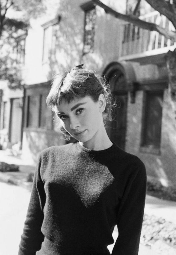 Mark Shaw Portrait of Audrey Hepburn #87 Los Angeles, 1953